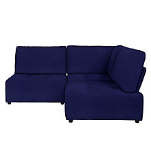 Buy House by John Lewis Flex Small Corner Sofa, Quinn Navy Online at johnlewis.com