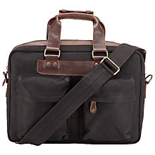 Buy JOHN LEWIS & Co. Waxed Canvas Flight Bag Online at johnlewis.com