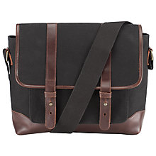 Buy JOHN LEWIS & Co. Waxed Canvas Field Bag Online at johnlewis.com