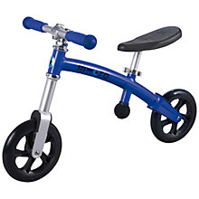 Buy Micro Balance Bike, Blue Online at johnlewis.com