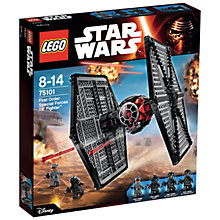 Buy LEGO Star Wars First Order Special Forces TIE Fighter Online at johnlewis.com