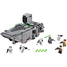 Buy LEGO Star Wars First Order Transporter Online at johnlewis.com
