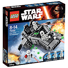 Buy LEGO Star Wars First Order Snowspeeder Online at johnlewis.com