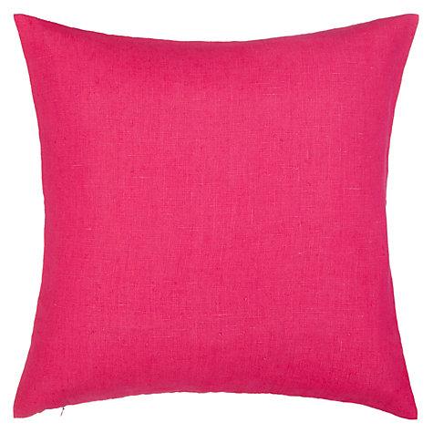 buy john lewis linen cushion john lewis. Black Bedroom Furniture Sets. Home Design Ideas