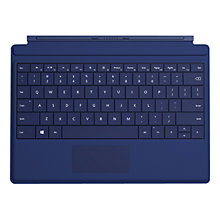Buy Microsoft Surface 3 Type Cover, Keyboard Cover for Surface 3 Online at johnlewis.com