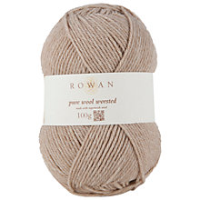 Buy Rowan Pure Wool Worsted Superwash Yarn, 100g Online at johnlewis.com