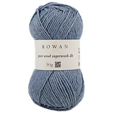 Buy Rowan Pure Wool Super Wash DK Yarn, 50g Online at johnlewis.com