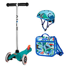 Buy Micro Scooters Mini Scootersaurus Set Online at johnlewis.com