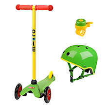 Buy Micro Scooters Mini Lollipop Green Set Online at johnlewis.com