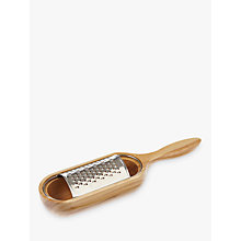 Buy John Lewis Olive Wood Cheese Grater Online at johnlewis.com