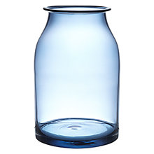 Buy John Lewis Croft Bottle Vase, 26cm, Sapphire Online at johnlewis.com