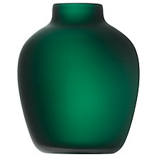 Buy LSA International Cashmere Vase, Green Online at johnlewis.com