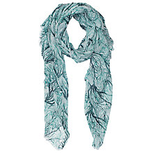 Buy French Connection Loreli Moda Scarf, West Lake/Multi Online at johnlewis.com