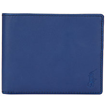 Buy Polo Ralph Lauren Smooth Leather Billfold Wallet Online at johnlewis.com