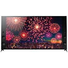 "Buy Sony Bravia KD75X9405CBU 4K Ultra HD 3D Android Wedge TV, 75"" with Freeview HD, Youview, Built-In Wi-Fi & 2x 3D Glasses Online at johnlewis.com"