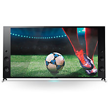 "Buy Sony Bravia KD75X9405CBU LED 4K Ultra HD 3D Android Wedge TV, 75"" with Freeview HD, Youview, Built-In Wi-Fi & 2x 3D Glasses Online at johnlewis.com"