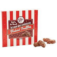 Buy Mr Stanley's, Belgian Flaked Truffles, 200g Online at johnlewis.com
