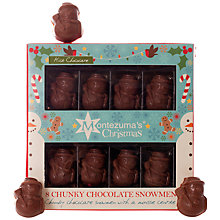 Buy Montezuma's Chunky Milk Chocolate Snowmen Online at johnlewis.com