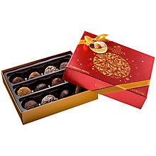 Buy Godiva 12-Piece Christmas Truffle Box Online at johnlewis.com