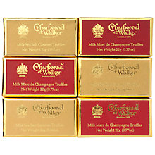 Buy Charbonnel et Walker 6 Ballotin Set, Red & Gold Online at johnlewis.com