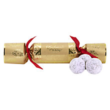 Buy Charbonnel et Walker Gold Mini Cracker Online at johnlewis.com
