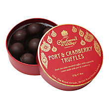 Buy Charbonnel et Walker Port & Cranberry Truffles Online at johnlewis.com