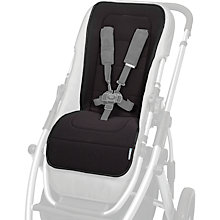 Buy Uppababy Vista and Cruz Pushchair Seat Liner, Black Online at johnlewis.com