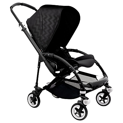 Bugaboo Bee3 Complete Shiny Pushchair, Chevron