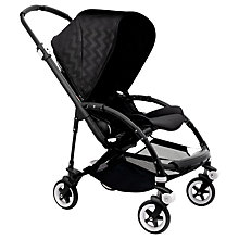Buy Bugaboo Bee3 Complete Shiny Pushchair, Chevron Online at johnlewis.com