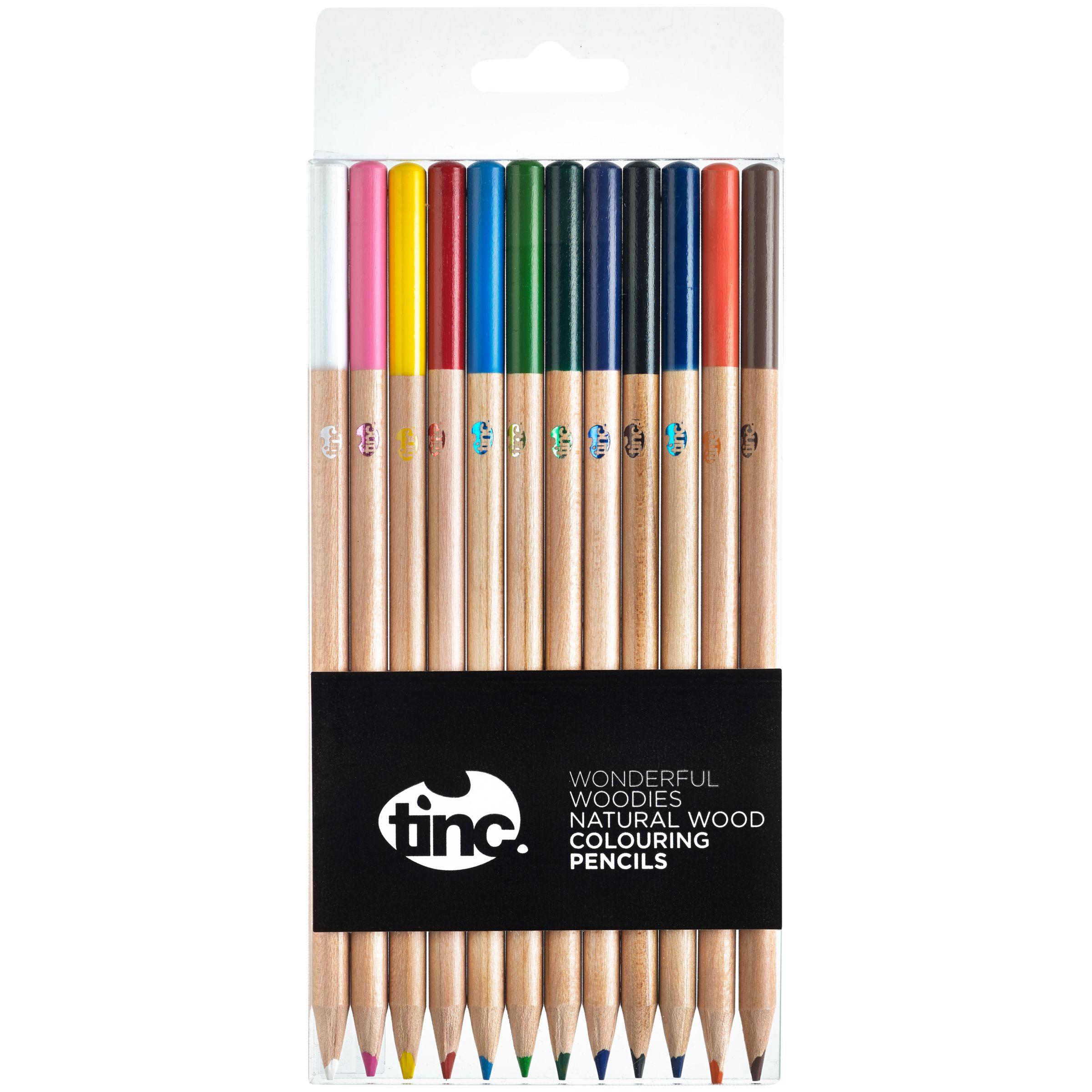 Tinc Tinc Wonderful Woodies Colouring Pencils