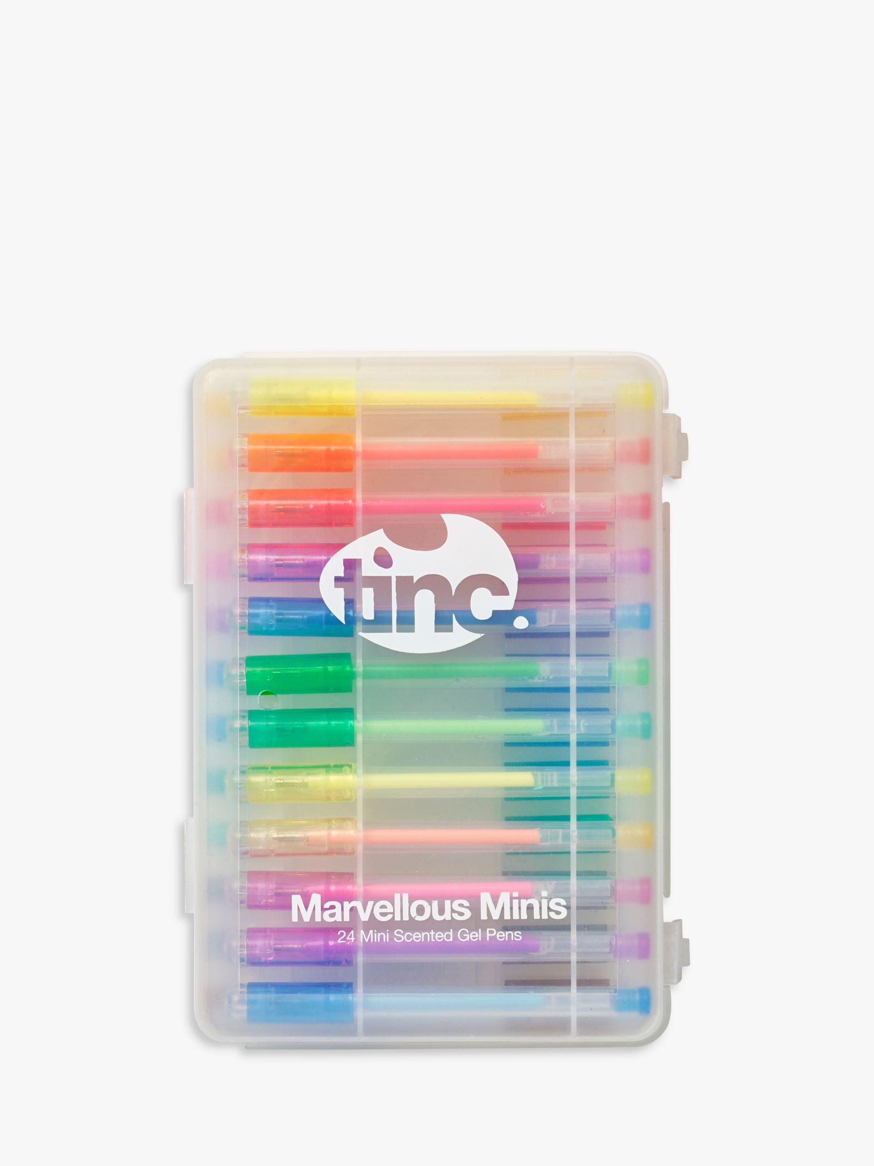 Tinc Tinc Marvellous Mini Scented Gel Pens, Pack of 24, Multi