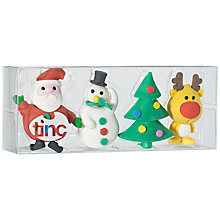 Buy Tinc Christmas Eraser Collection Online at johnlewis.com