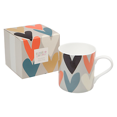 Caroline Gardner Heart Boxed Mug