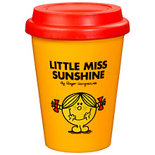 Buy Mr Men Little Miss Sunshine Travel Mug Online at johnlewis.com