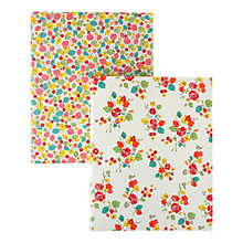 Buy Cath Kidston A4 Ringbinders, Set of 2, Woodland Rose Online at johnlewis.com