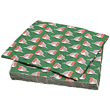 Buy Ginger Ray Robin Paper Napkins, Pack of 20 Online at johnlewis.com