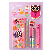 Buy Fourth Wall Hoot Tea Party Stationery Set Online at johnlewis.com