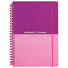 Buy Go Stationery Schemes & Dreams A5 Notebook, Multi Online at johnlewis.com
