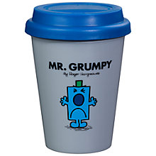 Buy Mr Men Mr Grumpy Travel Mug Online at johnlewis.com