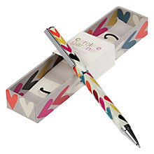 Buy Caroline Gardner Heart Ballpoint Pen Online at johnlewis.com