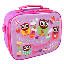Buy Fourth Wall Hoot Tea Insulated Lunch Bag Online at johnlewis.com