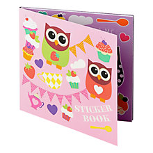 Buy Fourth Wall Hoot Tea Party Assorted Sticker Book Online at johnlewis.com