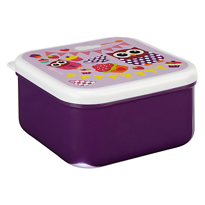 Fourth Wall Brands Hoot Tea Party Snack Boxes