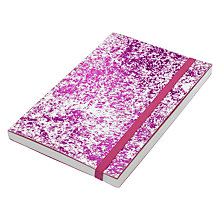 Buy Vivid Pink Foil A6 Notebook Online at johnlewis.com