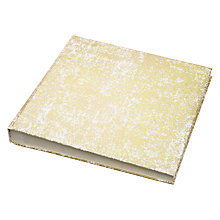 Buy Vivid Gold Foil Square Photo Album, Large Online at johnlewis.com