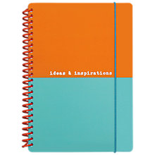 Buy Go Stationery Ideas & Inspirations A5 Notebook, Multi Online at johnlewis.com