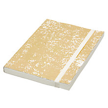 Buy Vivid Crushed Foil A6 Notebook, Gold Online at johnlewis.com