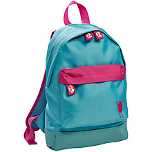 Buy Tinc Children's Mini Backpack, Blue with Pink Pockets Online at johnlewis.com