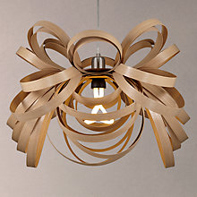 Buy Tom Raffield Butterfly Pendant Light, Oak Online at johnlewis.com