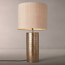 Buy David Hunt Caimen Table Lamp, Copper Online at johnlewis.com